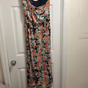 Sz xl strapless maxi dress